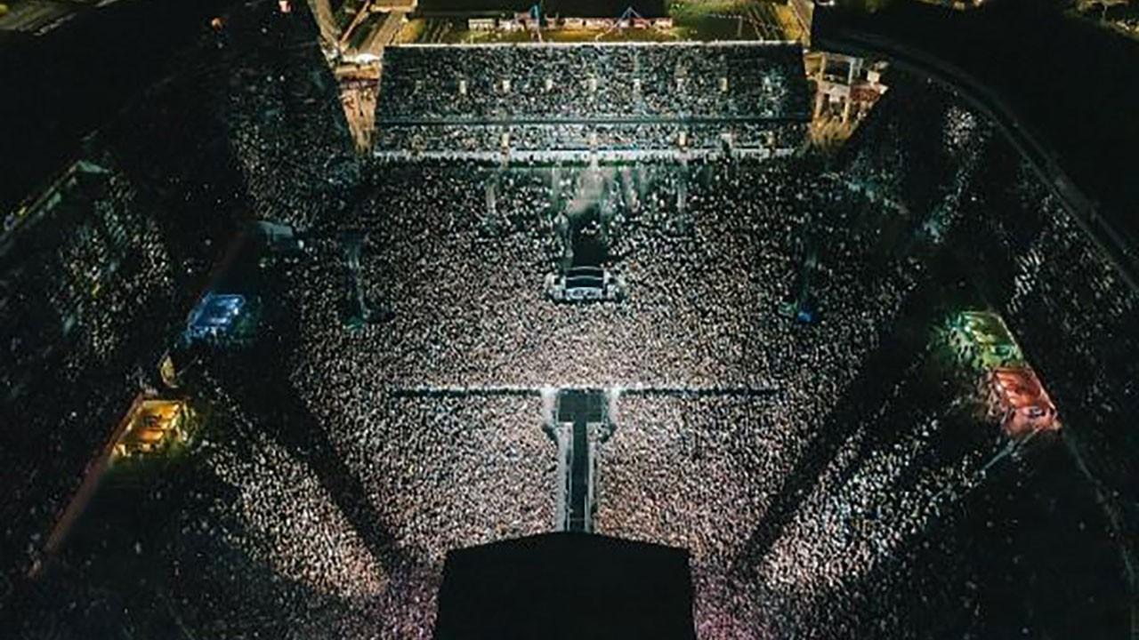 Yeni Zelanda'da 50 bin kişilik konser