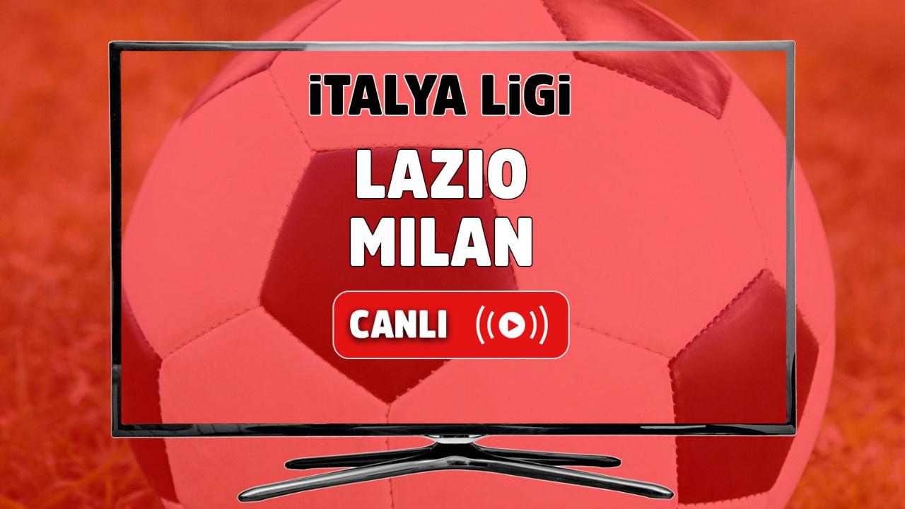 Lazio - Milan Canlı