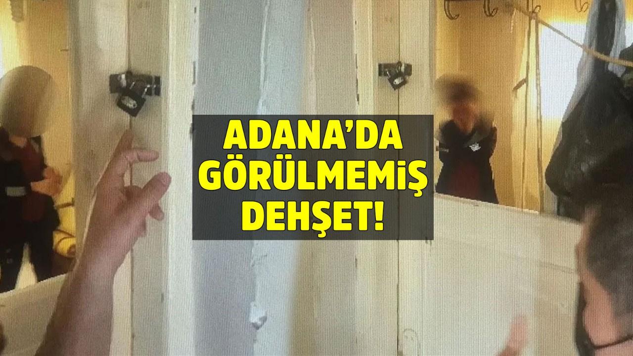 Adana'da görülmemiş dehşet