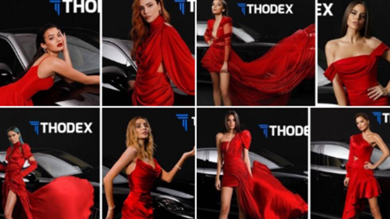 Thodex'in reklamında oynayan ünlüler…