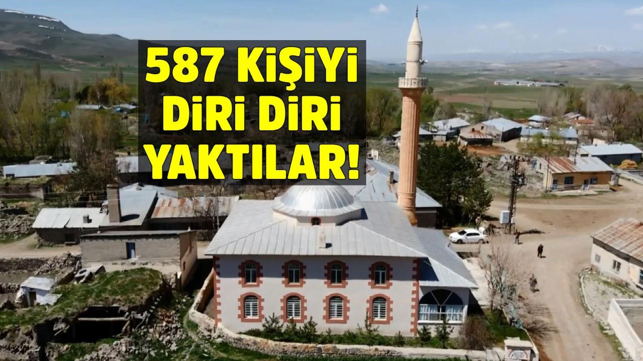 587 kişiyi diri diri yaktılar!