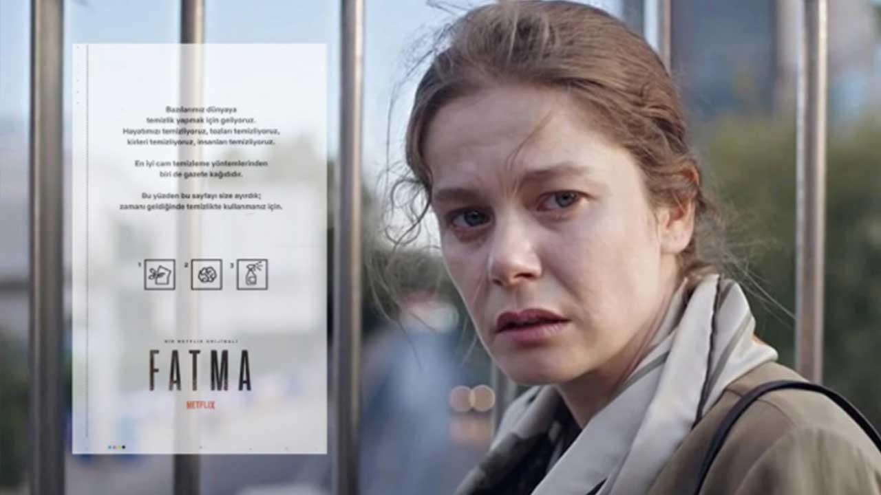 Netflix Türkiye'den şaşırtan 'Fatma' ilanı