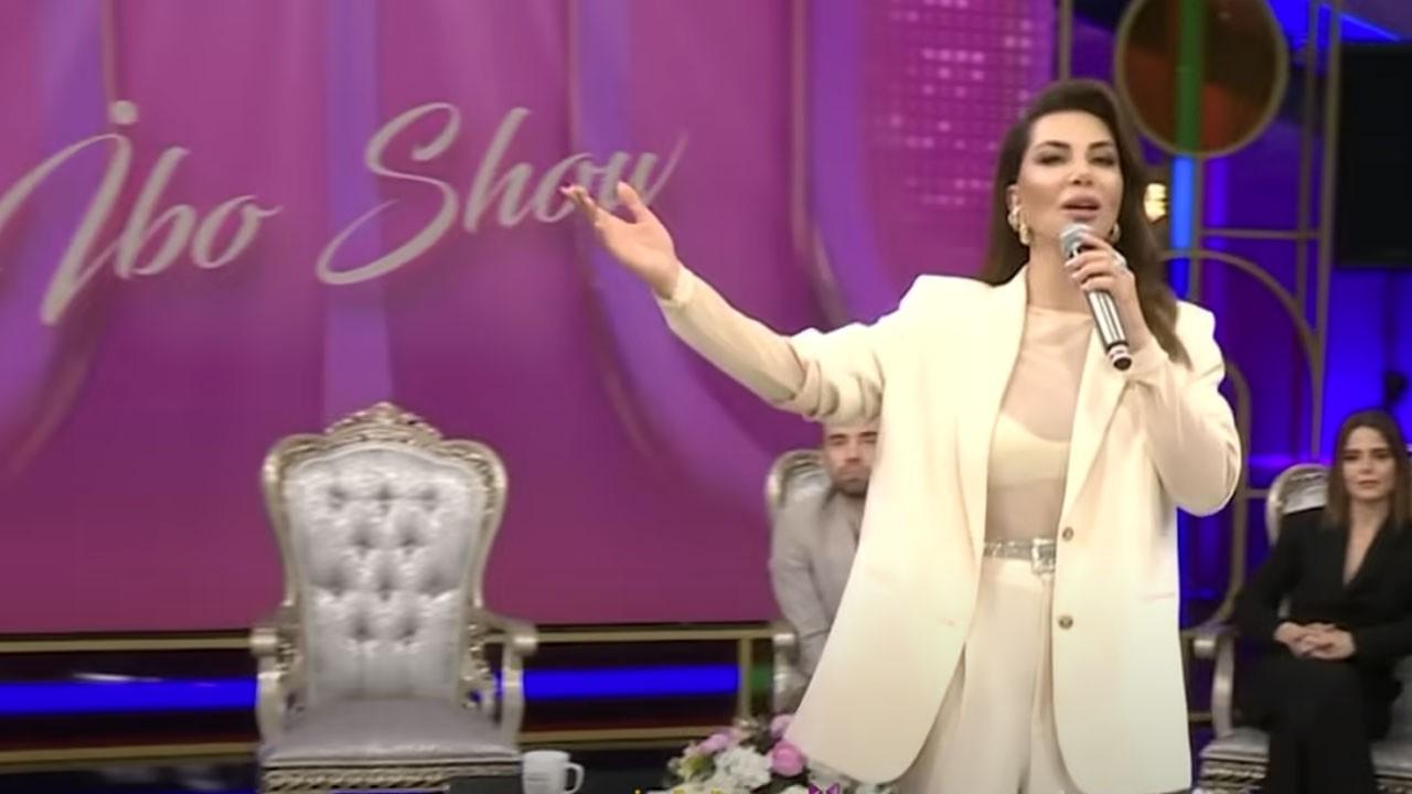 İbo Show'da Ebru Yaşar rüzgarı