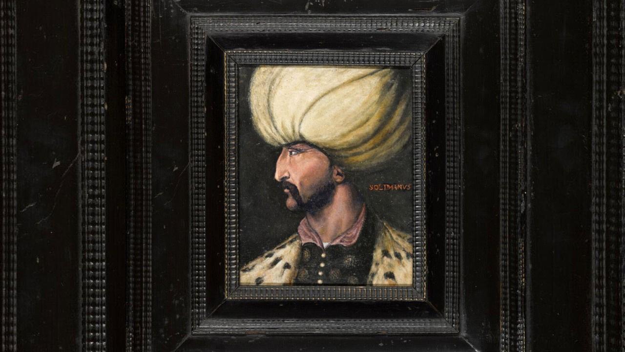 350 bin sterline alınan Kanuni Sultan Süleyman portresi İBB'ye bağışlandı