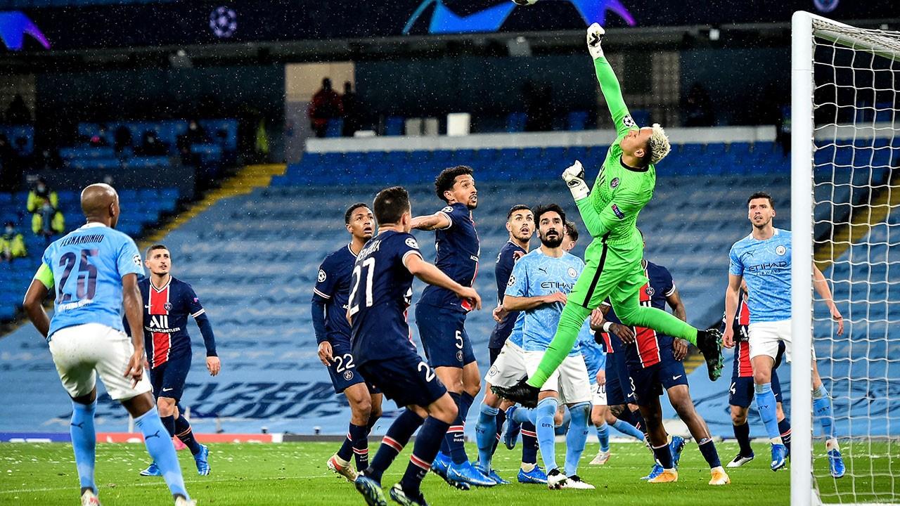 Manchester City 2 PSG 0