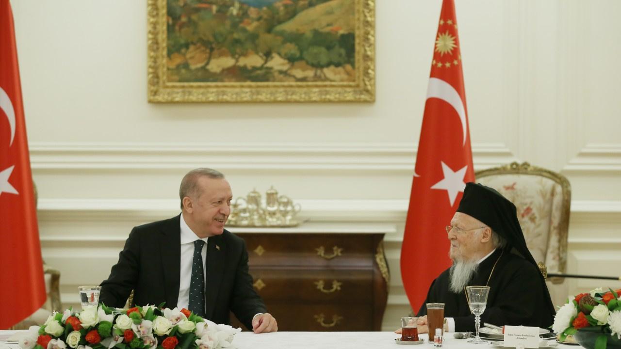 Azınlık cemaatlerinden Erdoğan'a teşekkür