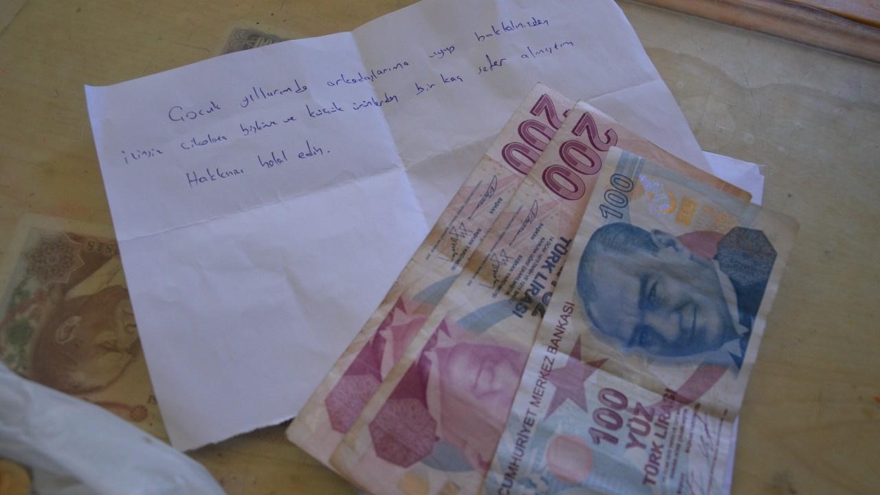 Bakkala 500 lira olan zarf bıraktı: Yıllar önce...