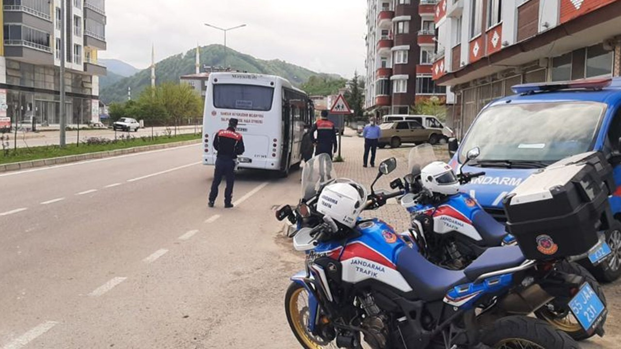 İstanbul'dan belgesiz yola çıktı, Samsun'da...