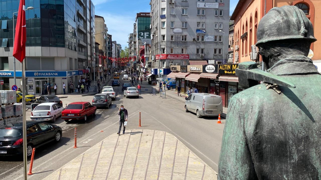 En çok vaka düşüşü Zonguldak'ta...
