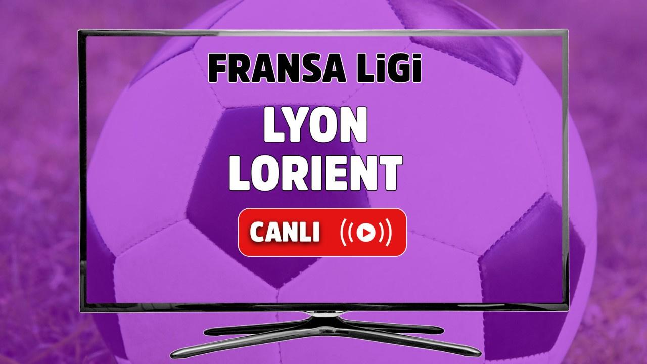 Lyon - Lorient Canlı
