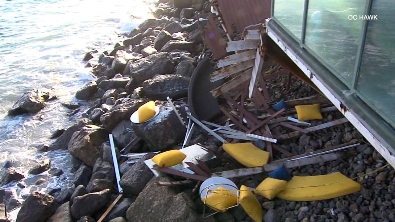 Parti yapılan evde balkon çöktü: 9 yaralı