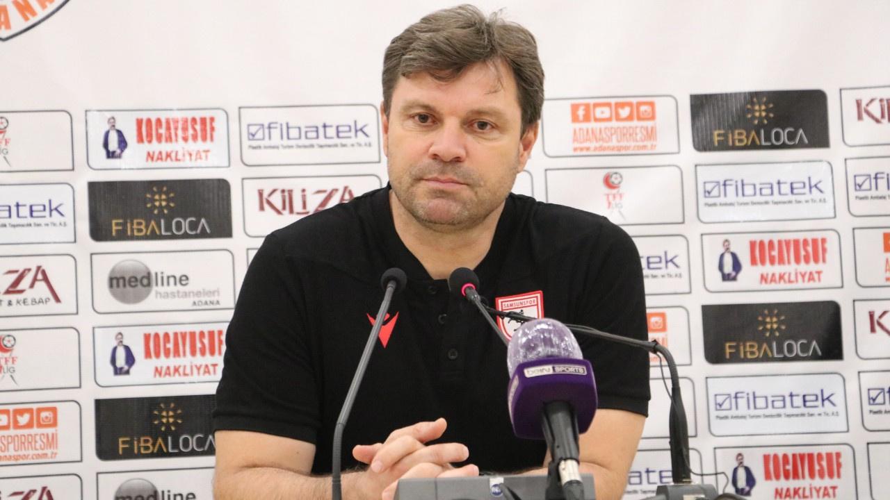 Samsunspor Teknik Direktörü Sağlam: Bu takım...