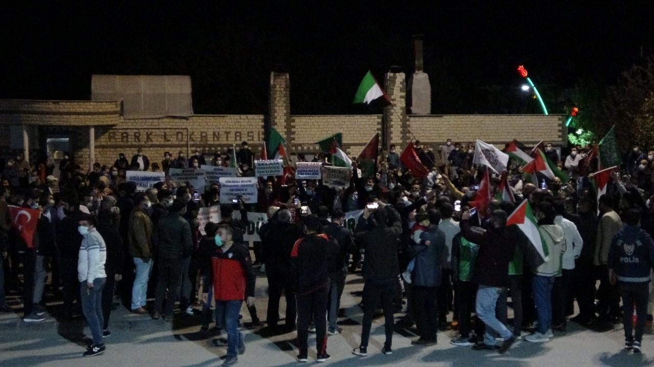 Türkiye'nin birçok ilinde İsrail protesto edildi