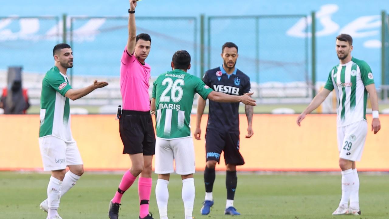 Trabzonspor Konya'dan 1 puanla dönüyor
