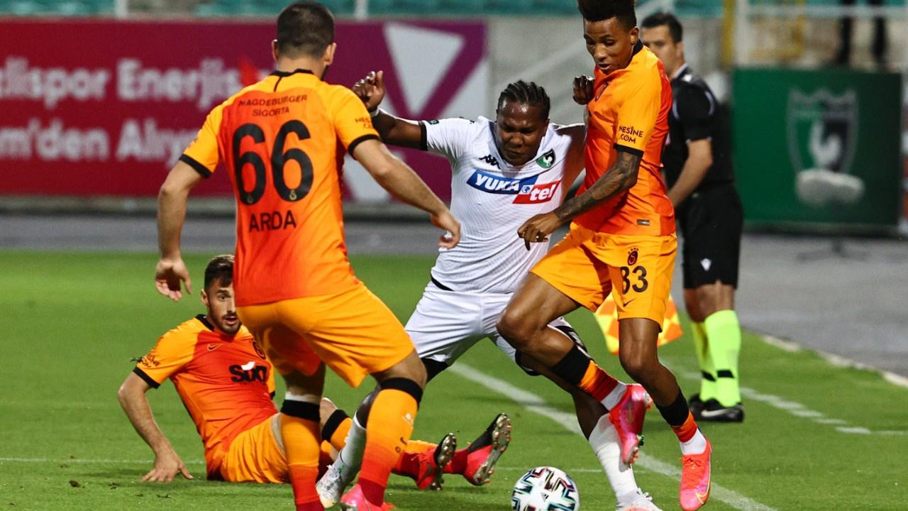 Galatasaray Denizli'den 3 puanla döndü