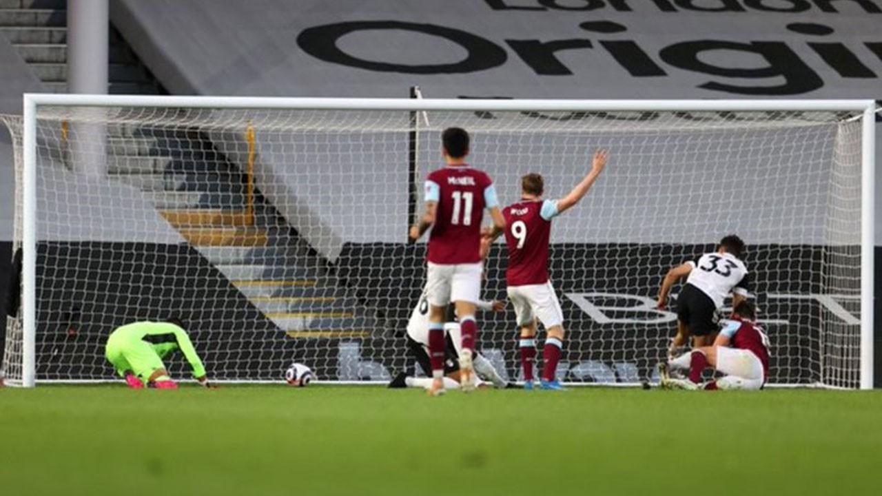 Fulham 0 Burnley 2