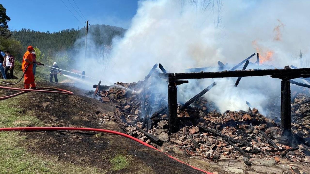 Patlayan piknik tüpünden yangın çıktı: 1 ölü