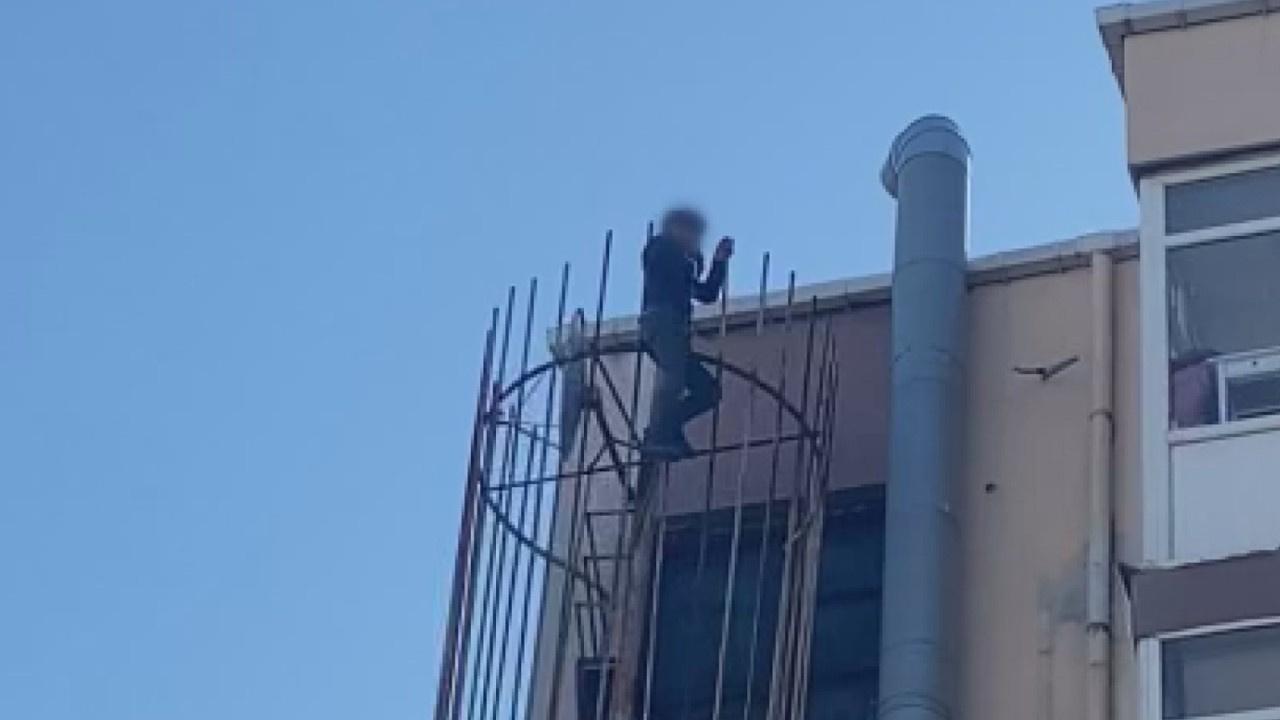 Beşiktaş'ta intihar girişimi