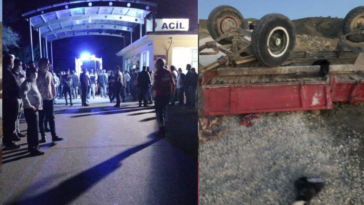 Ankara'da traktör faciası! Ölü ve yaralılar var