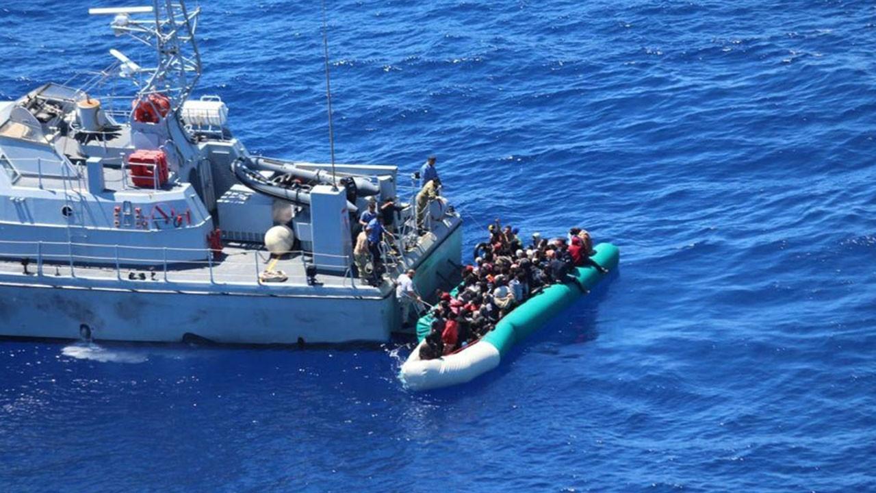 97 düzensiz göçmen kurtarıldı