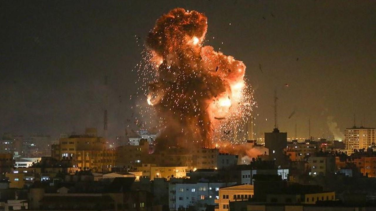 İsrail hava saldırısı yeniden başladı!