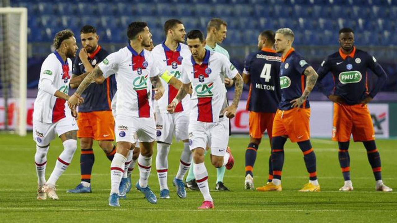 Montpellier 2 PSG 2