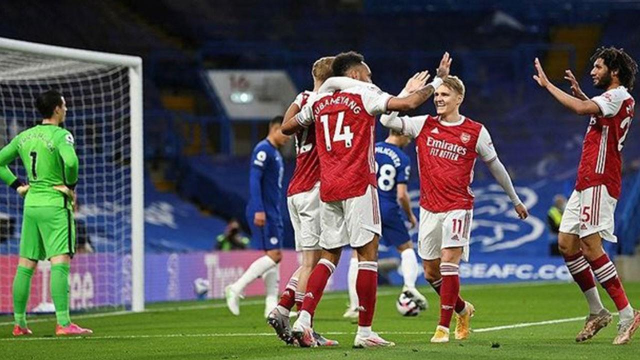 Chelsea 0 Arsenal 1