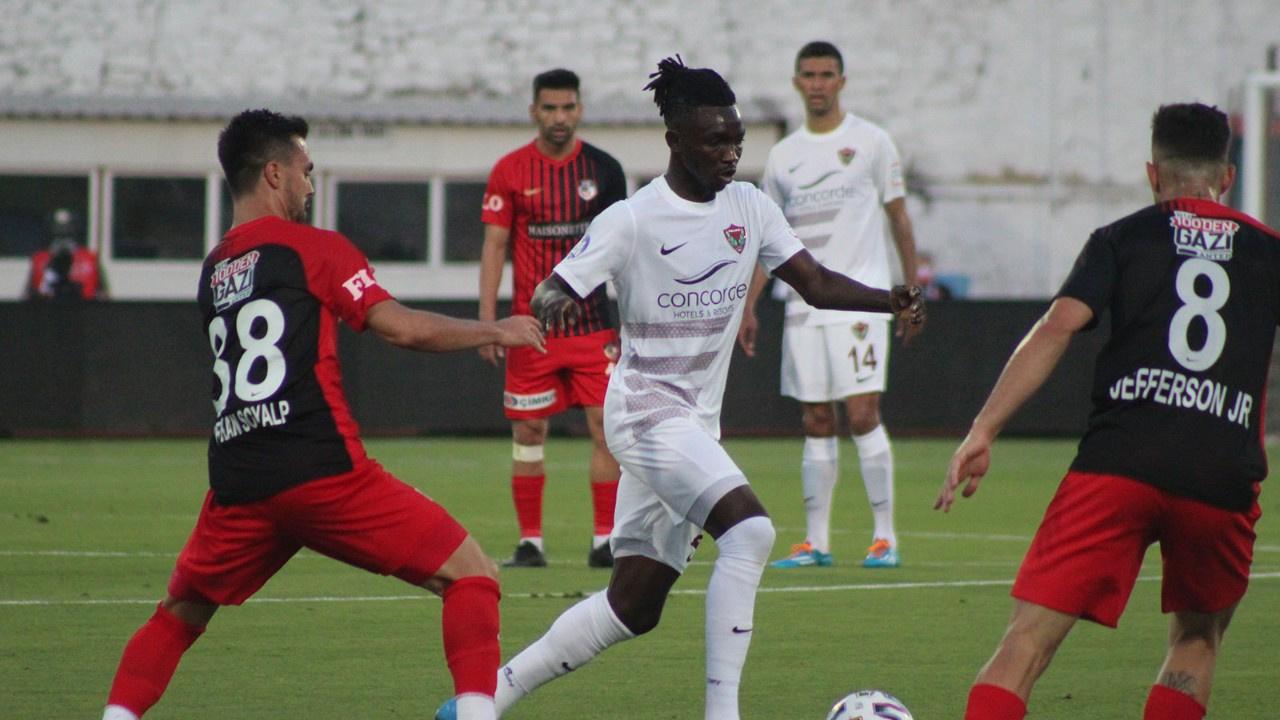 Gaziantep deplasmanda Hatayspor'u 1-0 yendi