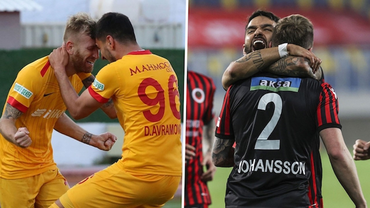 Süper Lig'de kümede kalma senaryoları
