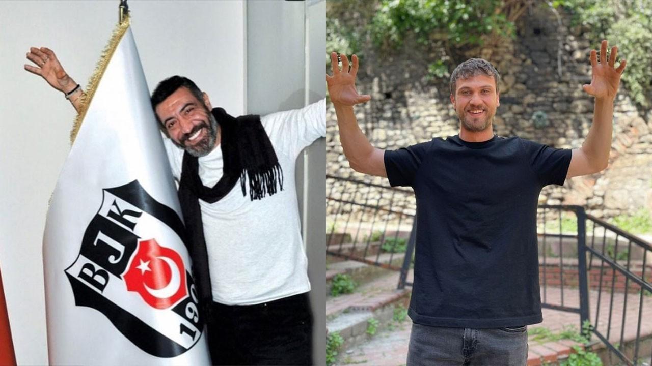 Beşiktaşlı ünlülerin şampiyonluk paylaşımları..