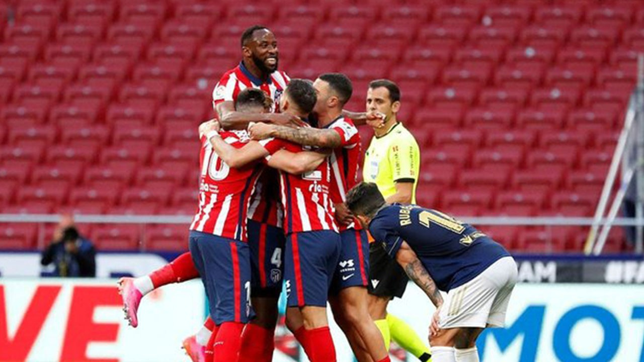 Atletico Madrid 2 Osasuna 1