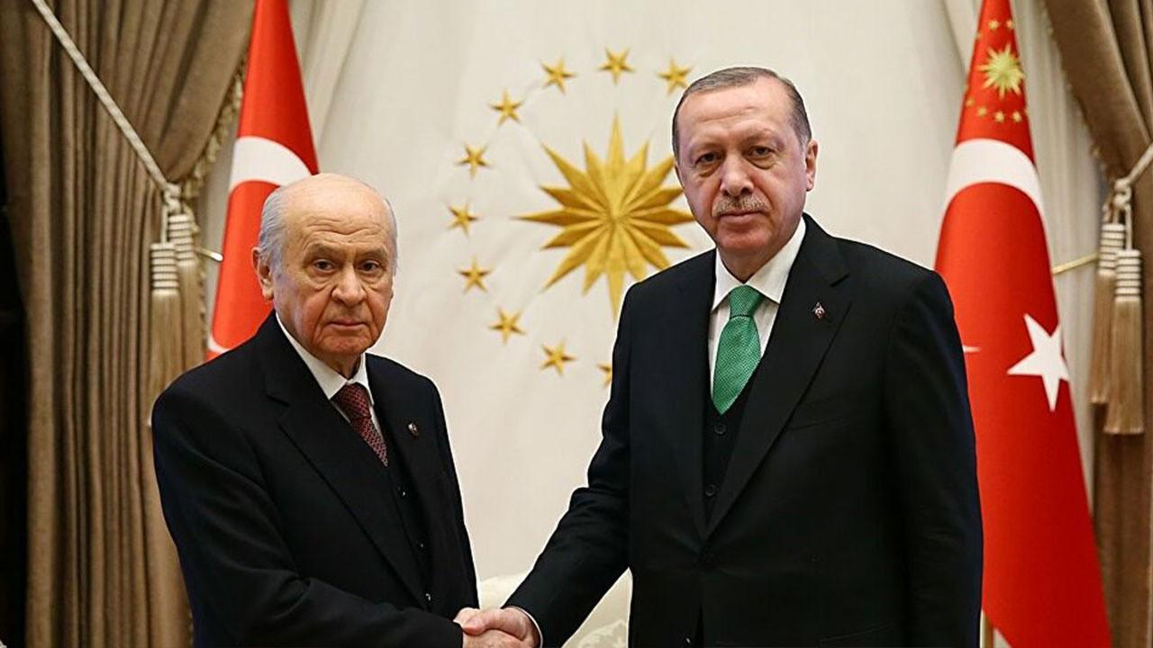 Sürpriz Erdoğan-Bahçeli görüşmesi!