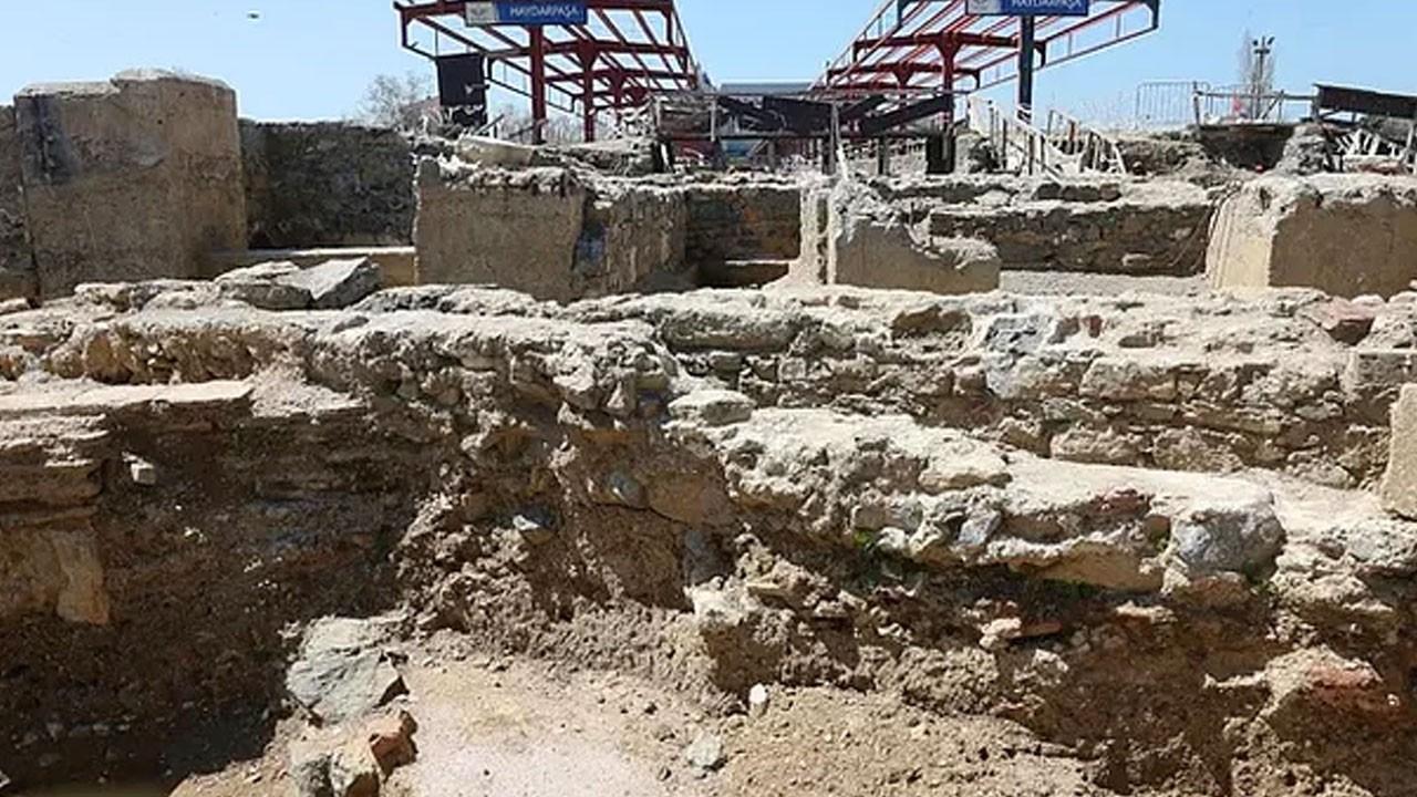 Haydarpaşa'dan  2400 yıllık tarih çıktı...