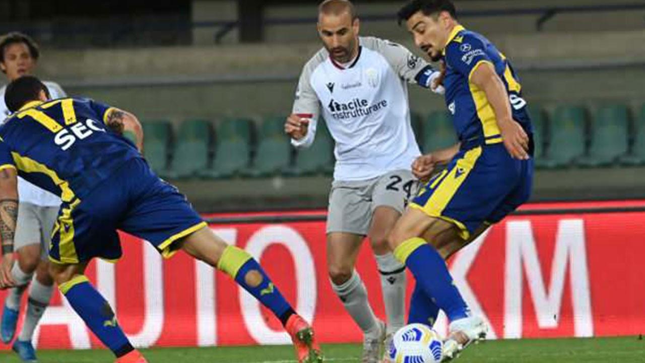 Hellas Verona ve Bologna berabere kaldı