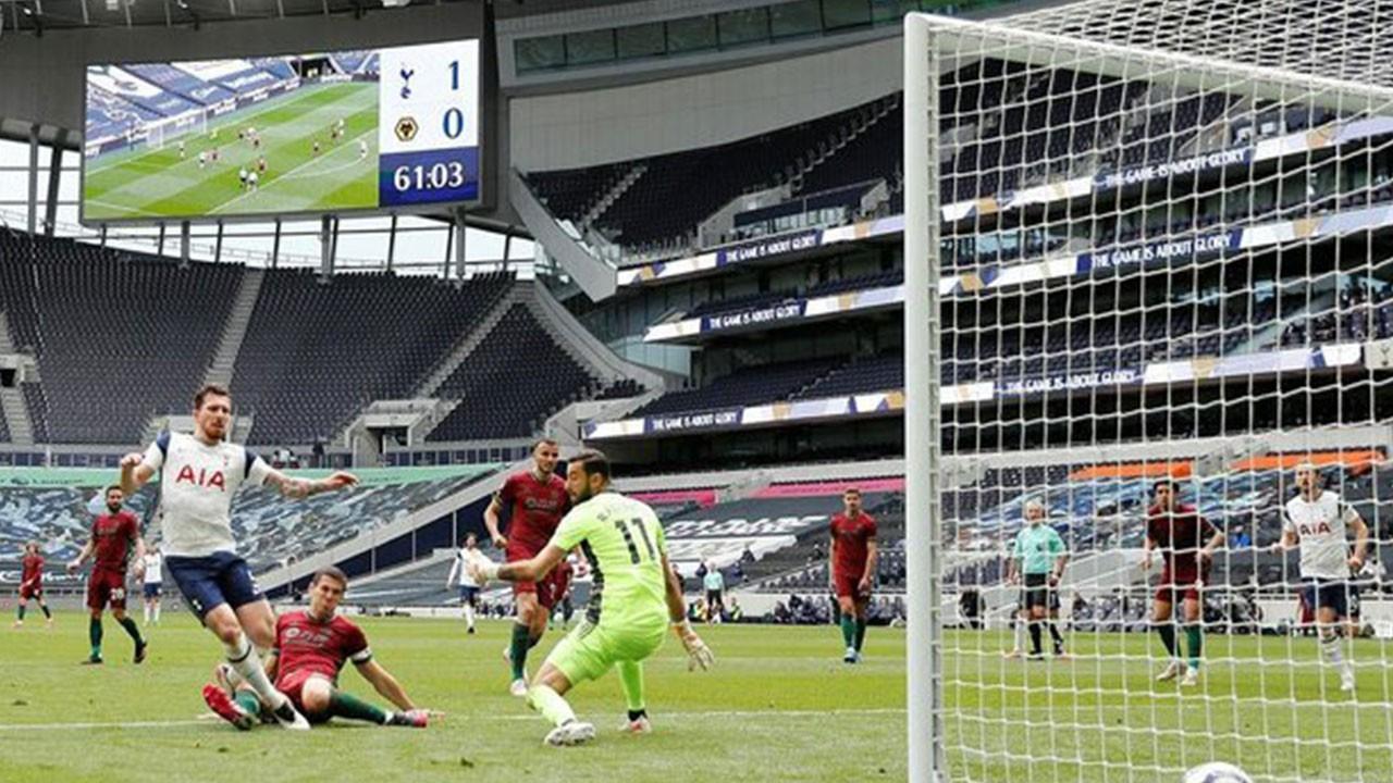 Tottenham 2 Wolverhampton 0