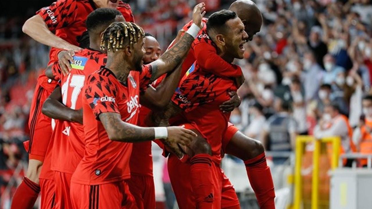 Çifte zafer! Türkiye Kupası Beşiktaş'ın