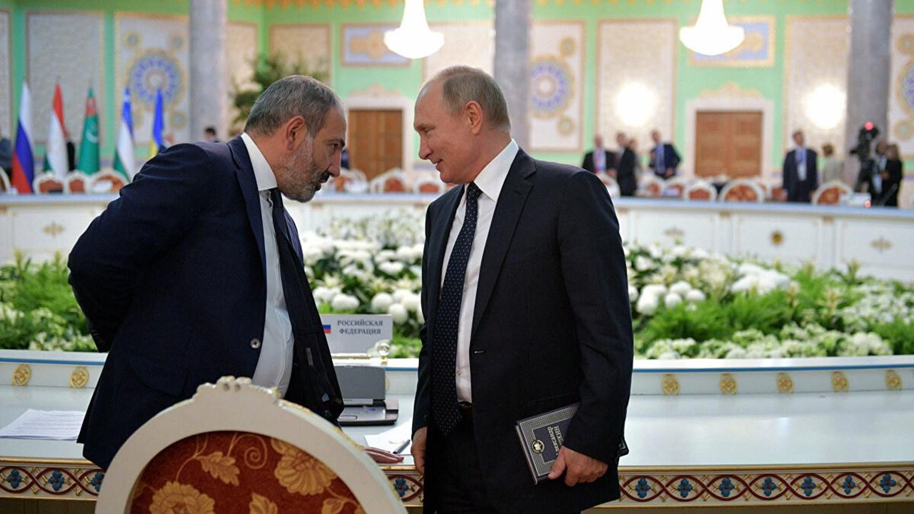Putin ile Paşinyan sınır gerilimini görüştü