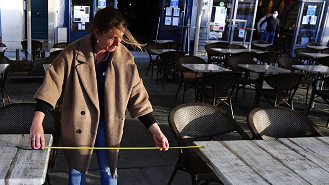 Kafe ve restoranların dış kısımları açıldı