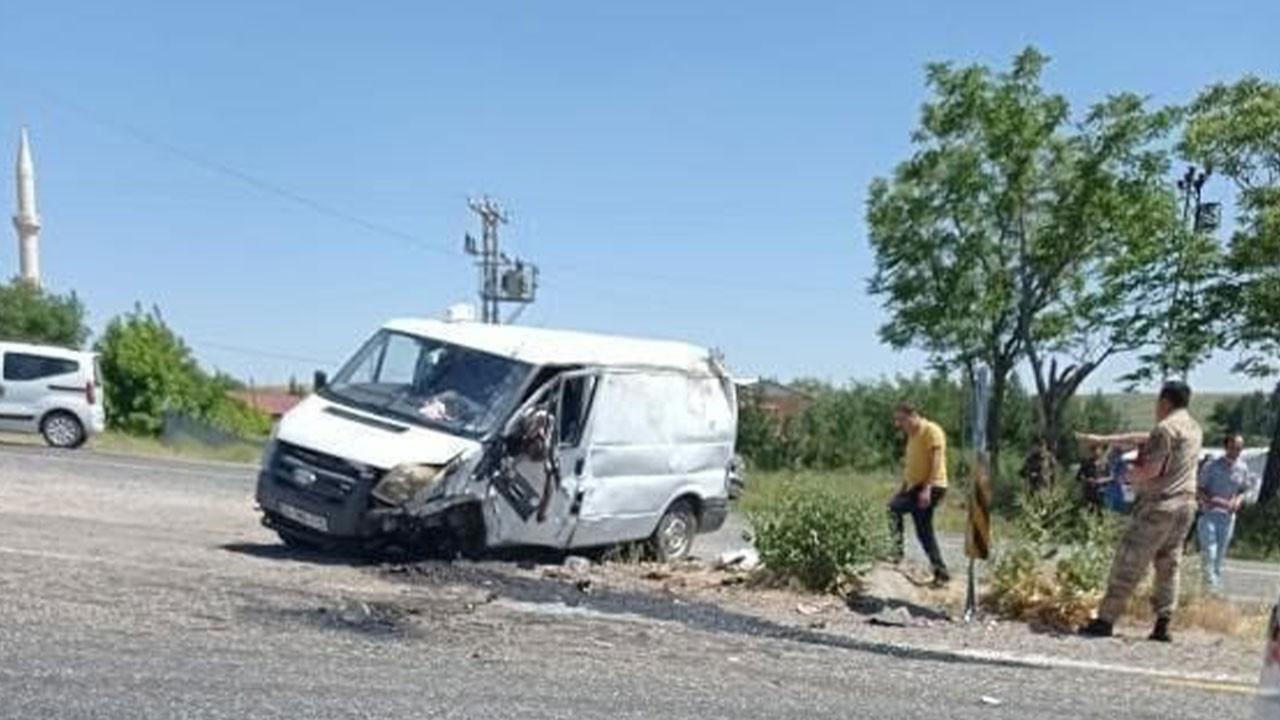 Diyarbakır'da korkunç kaza: 1 ölü, 3 yaralı