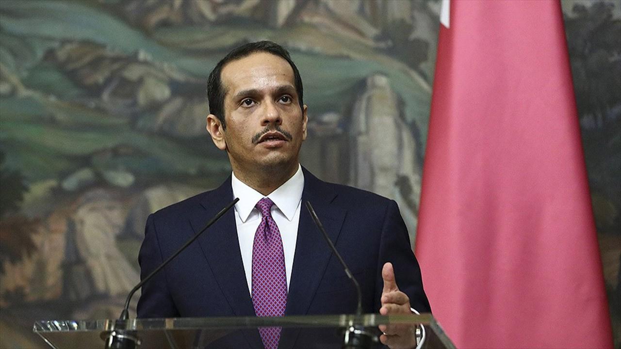 Katar Dışişleri Bakanı'ndan Filistin açıklaması