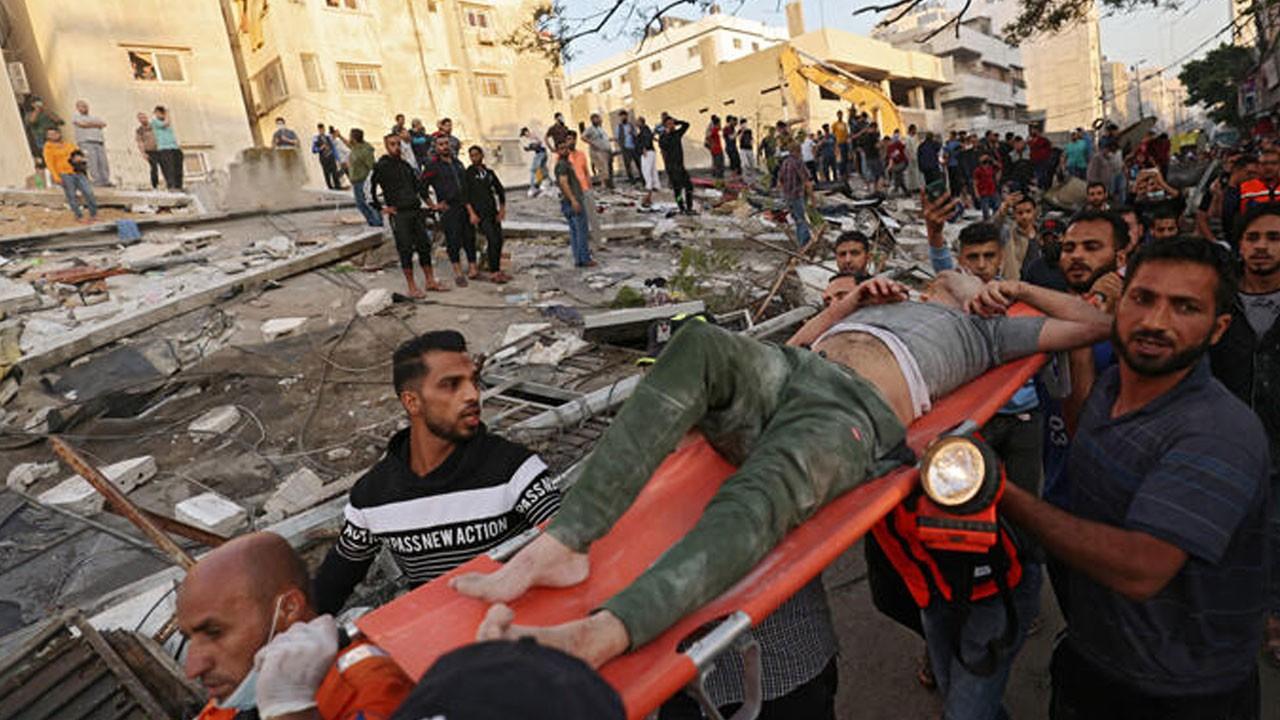 Gazze'de şehit sayısı 230'a yükseldi!