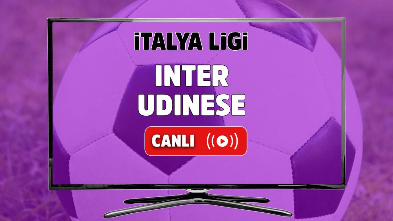 Inter - Udinese Canlı