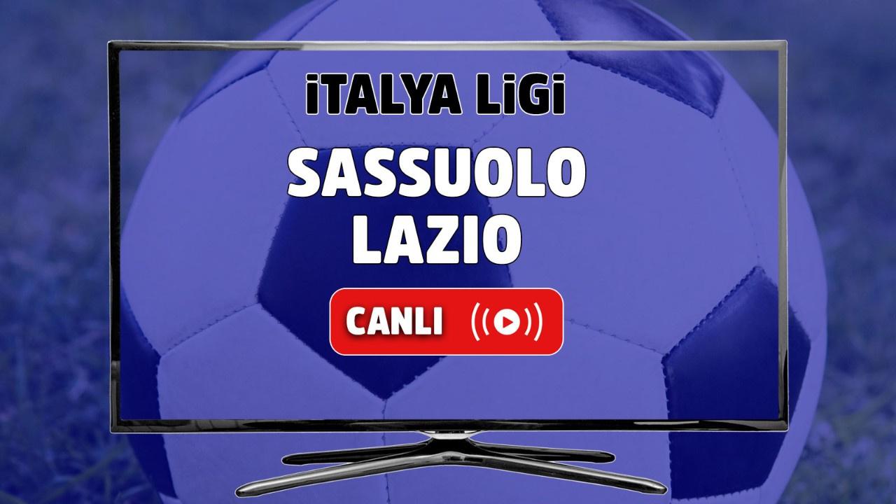 Sassuolo - Lazio Canlı