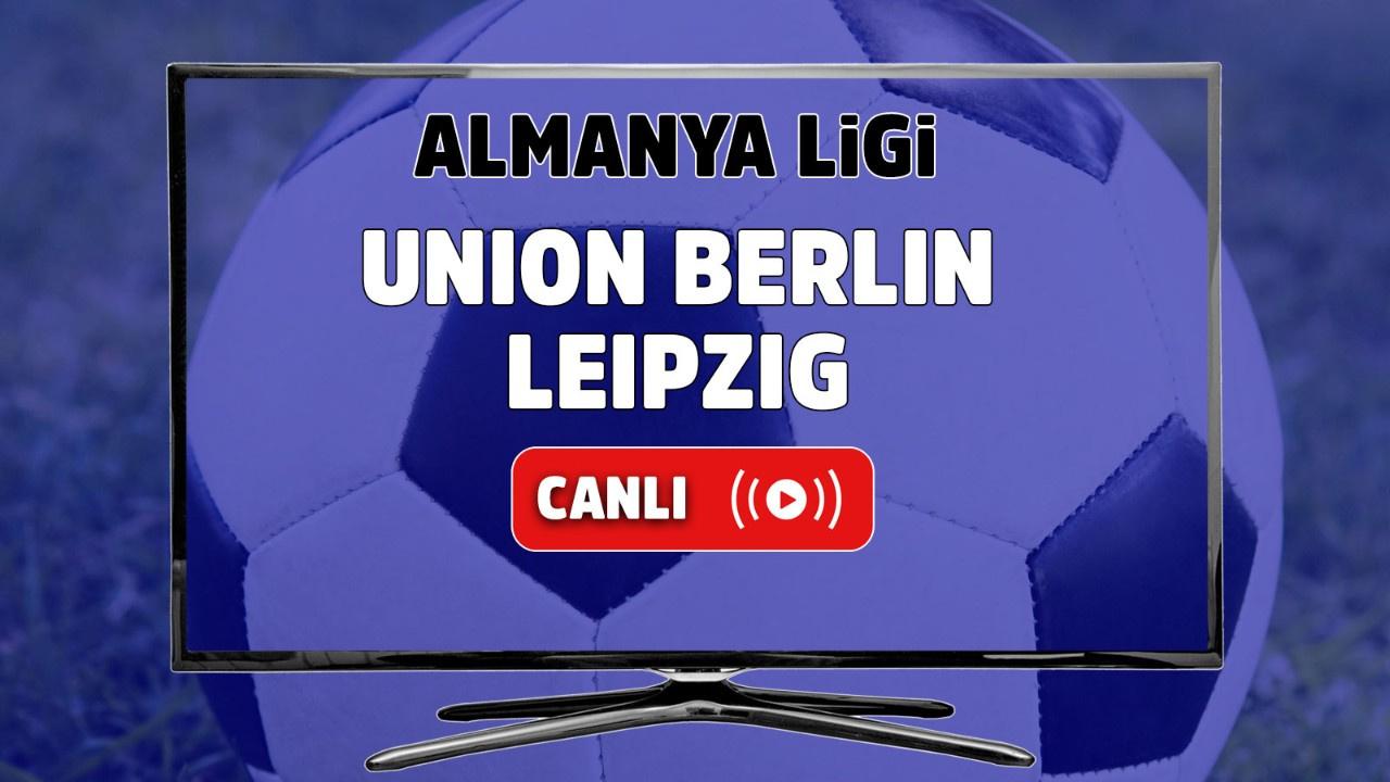 Union Berlin – Leipzig Canlı