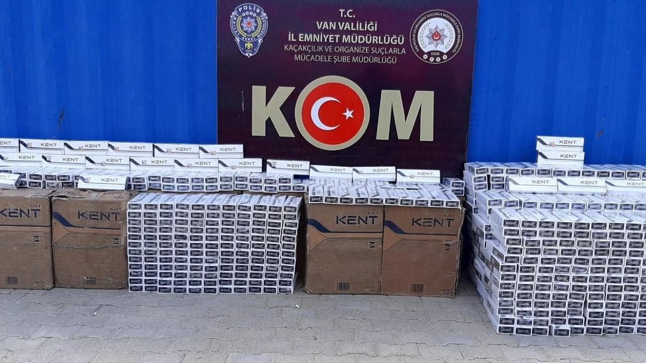Sigara kaçakçılarına büyük darbe: Tam 15 bin paket