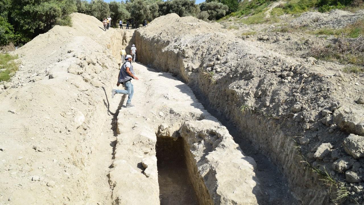 Kuşadası'nda inanılmaz keşif: 1. yüzyıla ait bir..