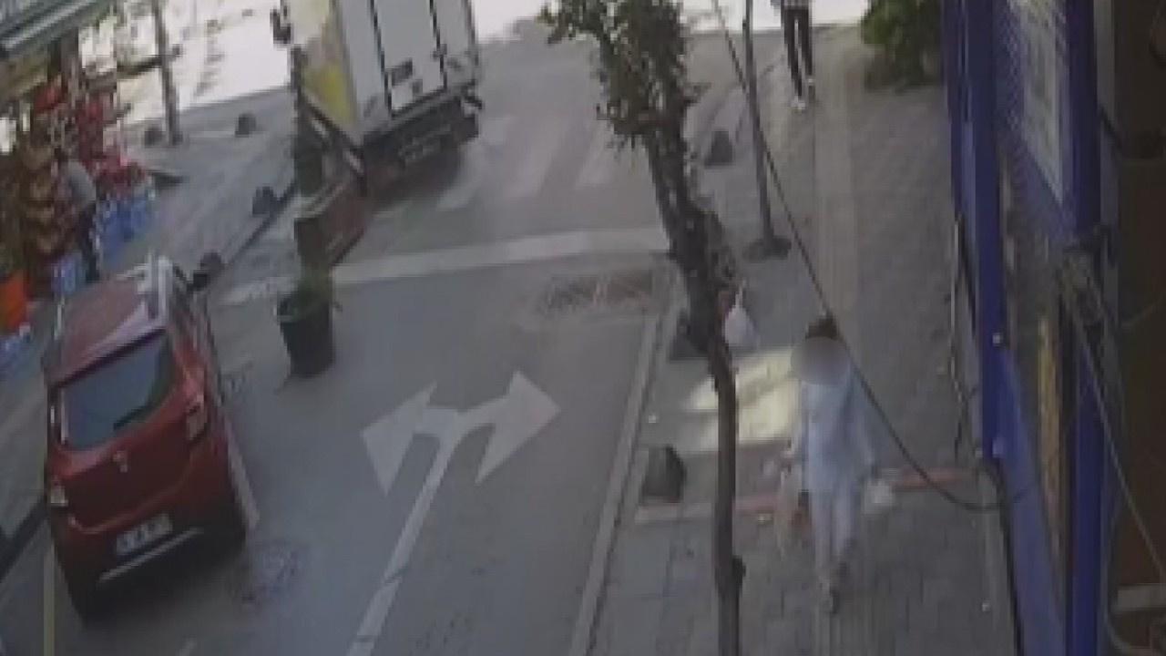 Apartman girişinde küçük kıza taciz iddiası