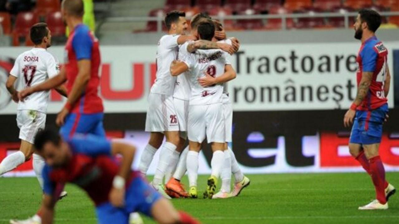 CFR Cluj 2 Steaua Bükreş 0