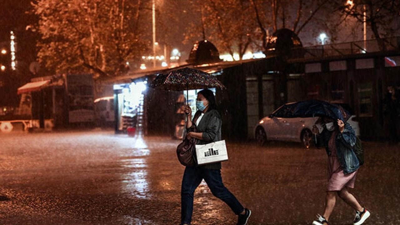 Cumartesi gününe dikkat! Yağışlı hava geliyor