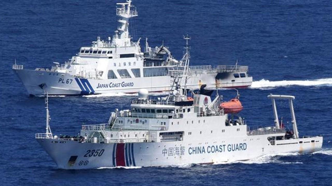 Doğu Çin Denizi'nde yüksek gerilim!